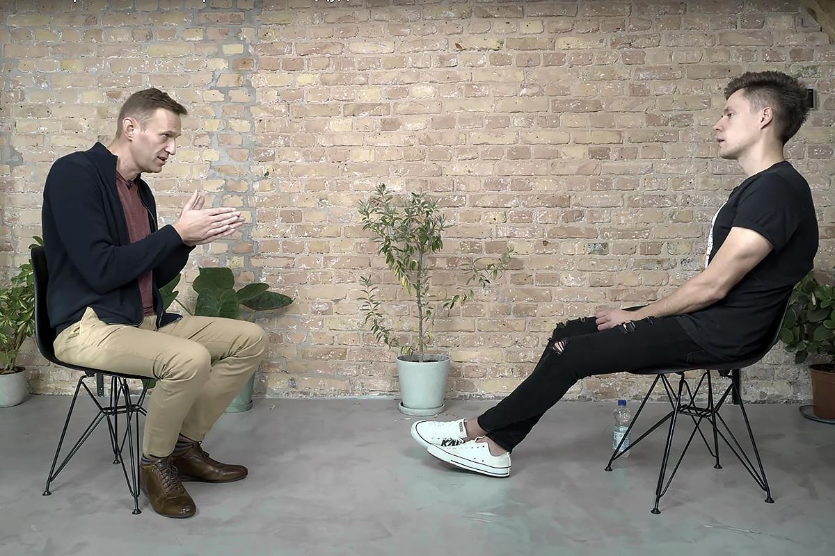 Разработчик «Новичка» оценил состояние Навального после интервью Дудю