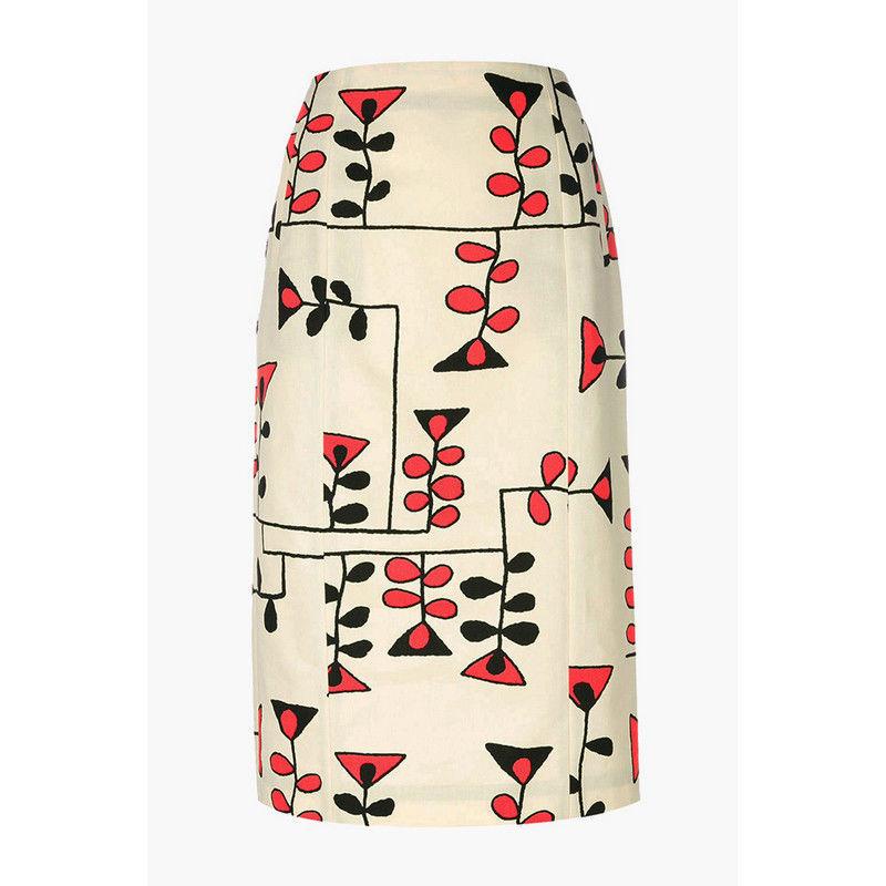 Весна 2020 — юбки сложного кроя, длина миди, фото № 30