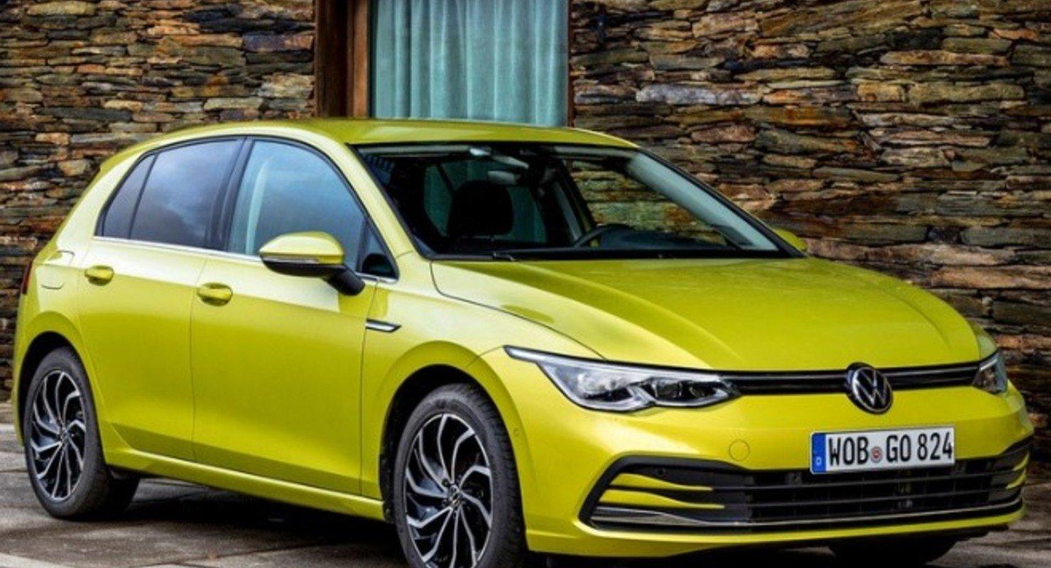 Volkswagen Golf восьмого поколения можно заказать в России по предзаказу Автомобили