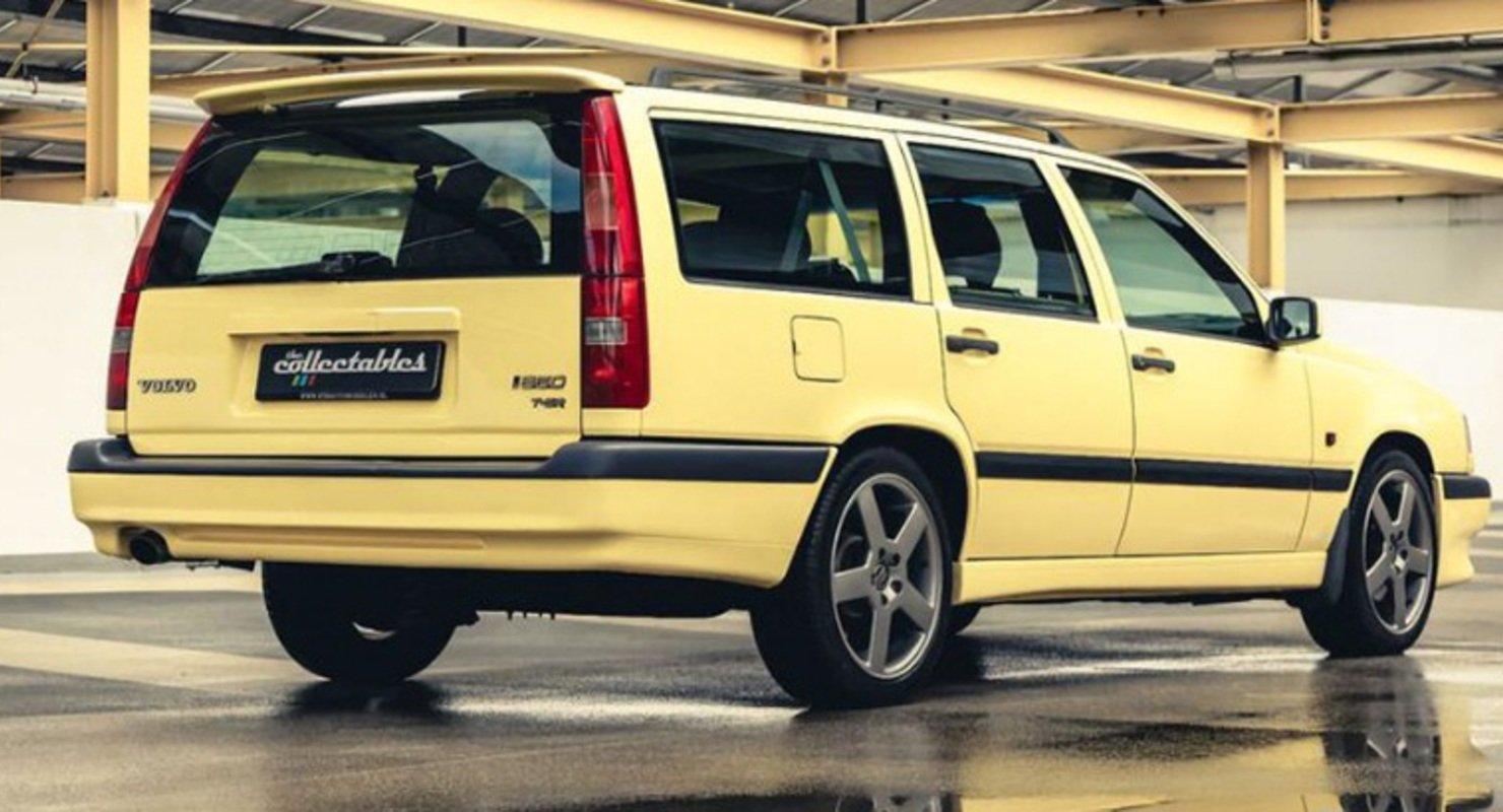Редкий универсал Volvo 850 T-5R Estate в фирменном цвете выставлен на торги за полмиллиона рублей Автомобили