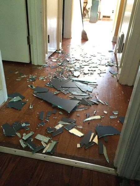 Разбитое зеркало, неразбитые…