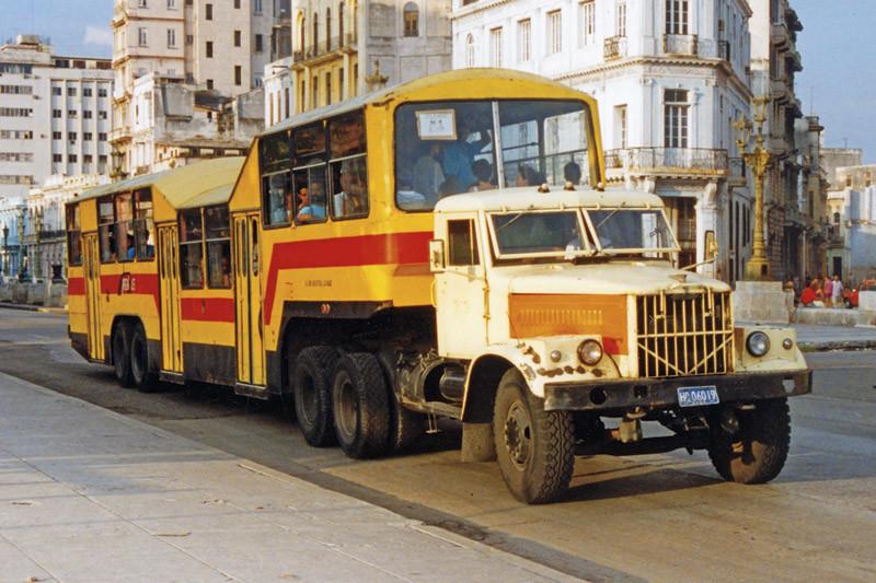 Кубинский автобус