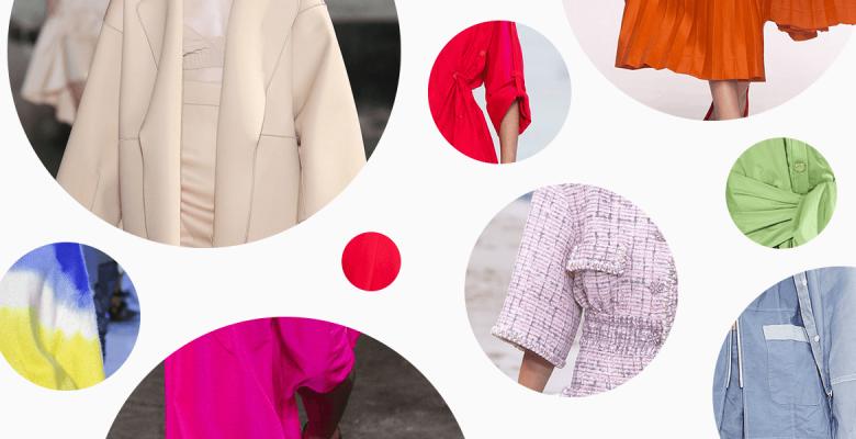 Модные цвета и принты весны-…