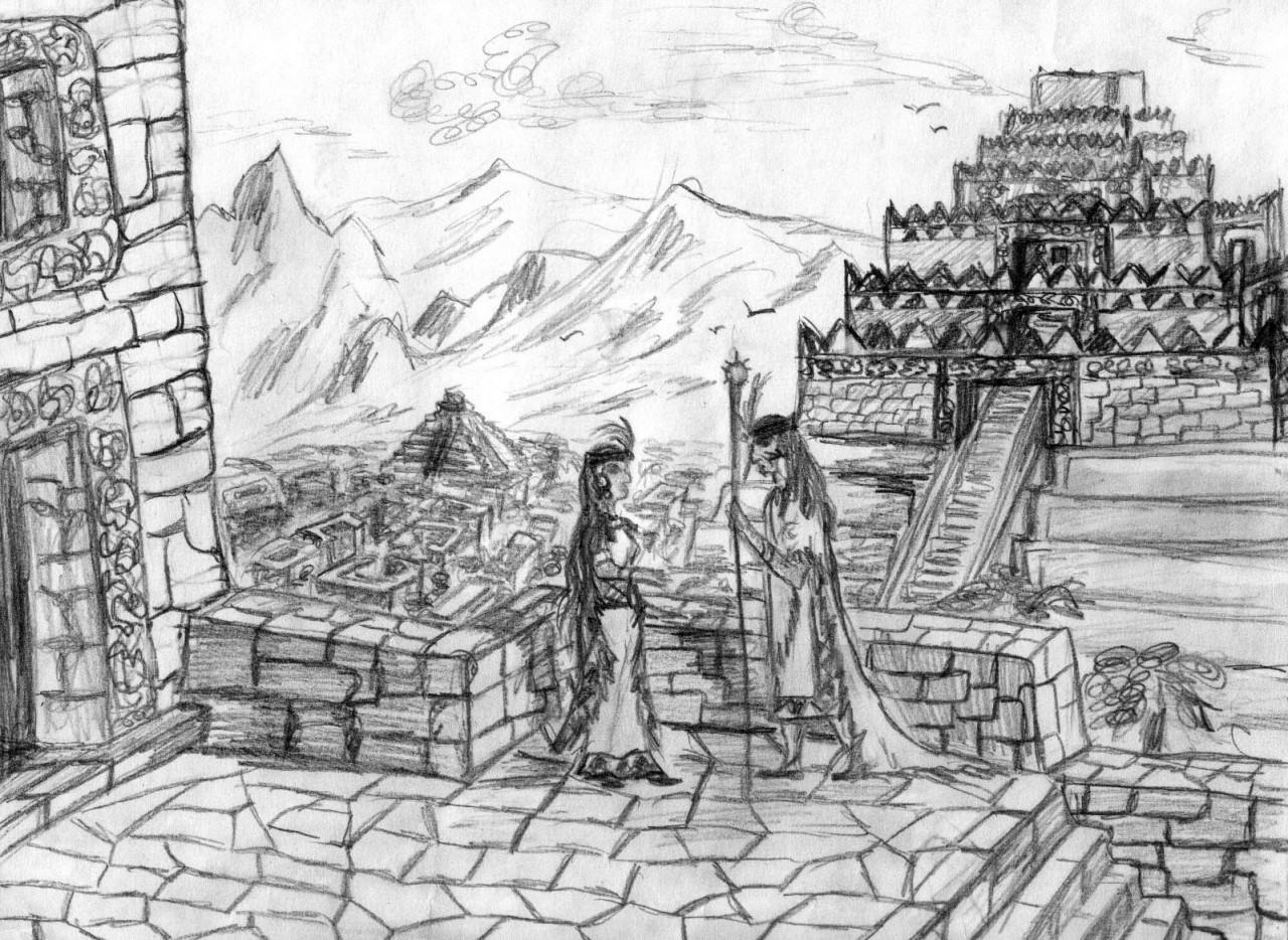 История индейской принцессы, или приключение в Атлантиде