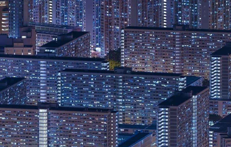 Гонконг - один из самых плотнонаселенных мегаполисов мира виды, города, китай, красота, необыкновенно, пейзажи, удивительно, фото