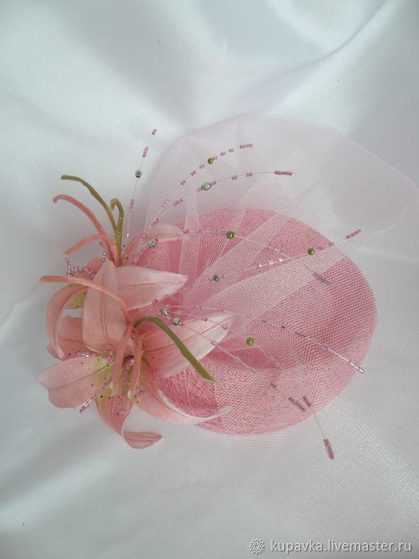 Изумительная шляпка из ниток