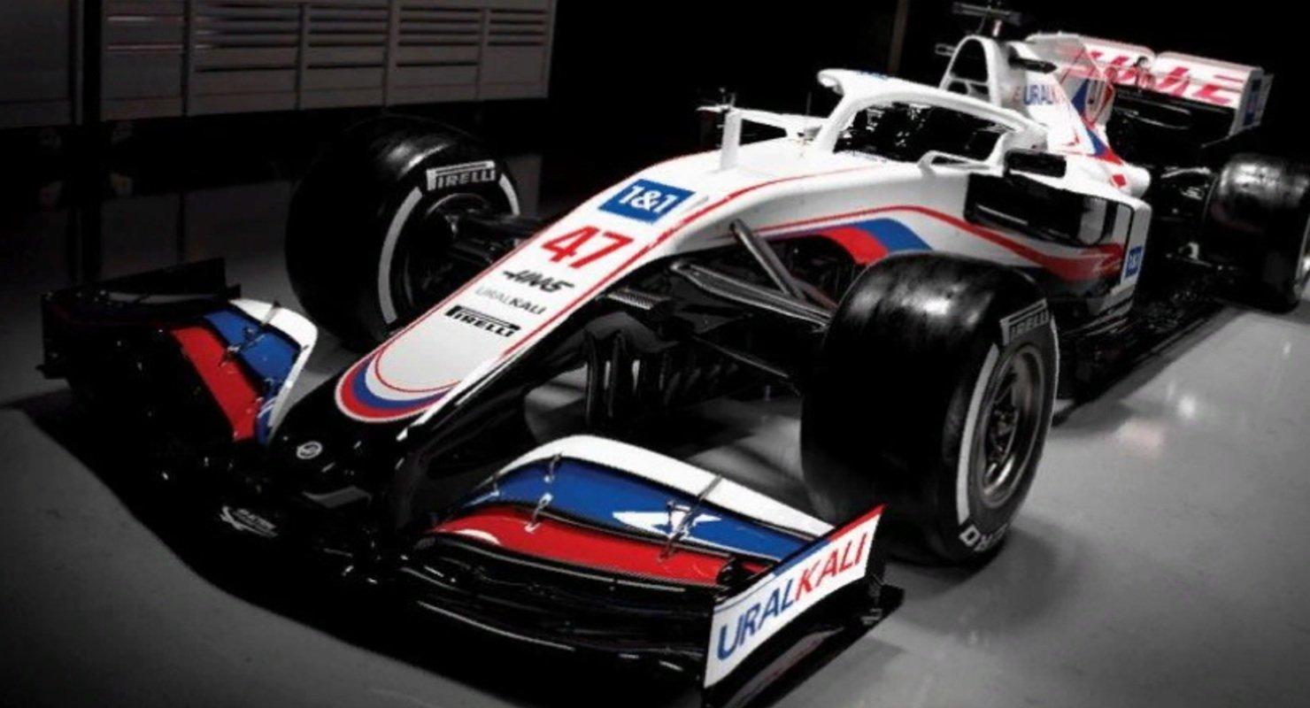Болид команды «Хаас» в Формуле-1 получил цвета русского флага Автомобили