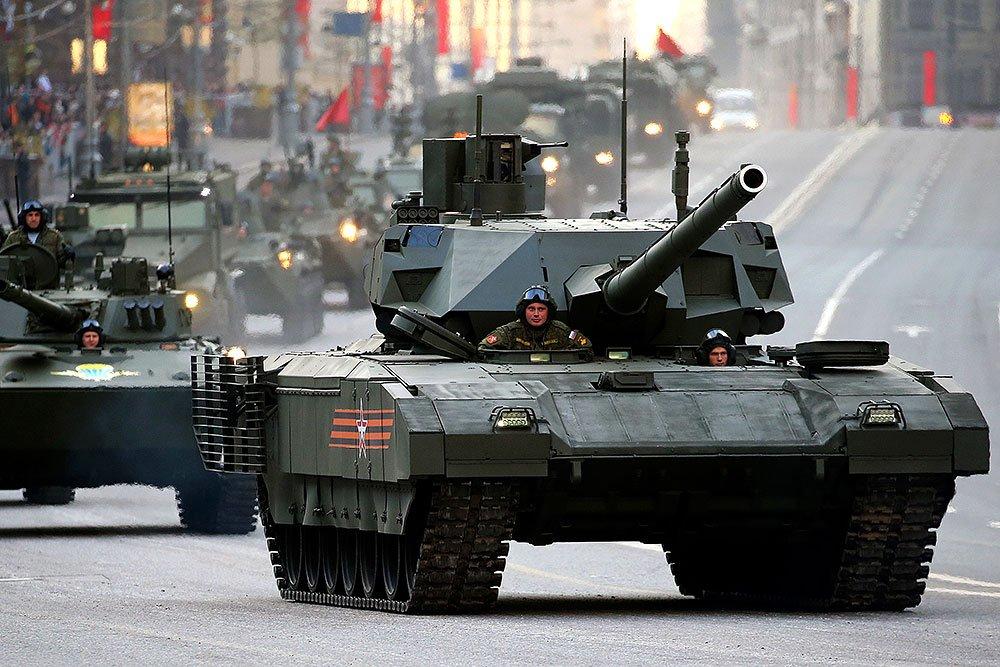 Россия вышла на второе место в мире по производству вооружения