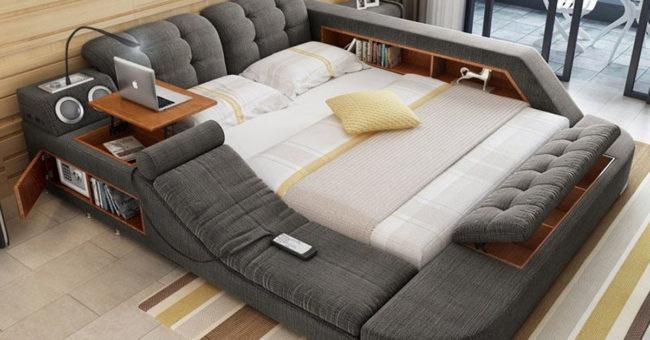 Многофункциональная кровать, на которой хочется прожить всю жизнь