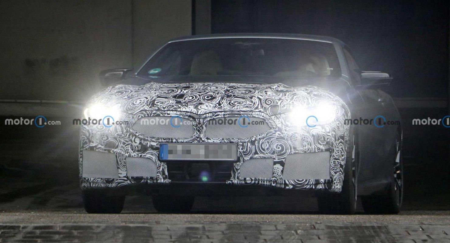 Рестайлинг кабриолета BMW 8 серии: внутри и снаружи Автомобили