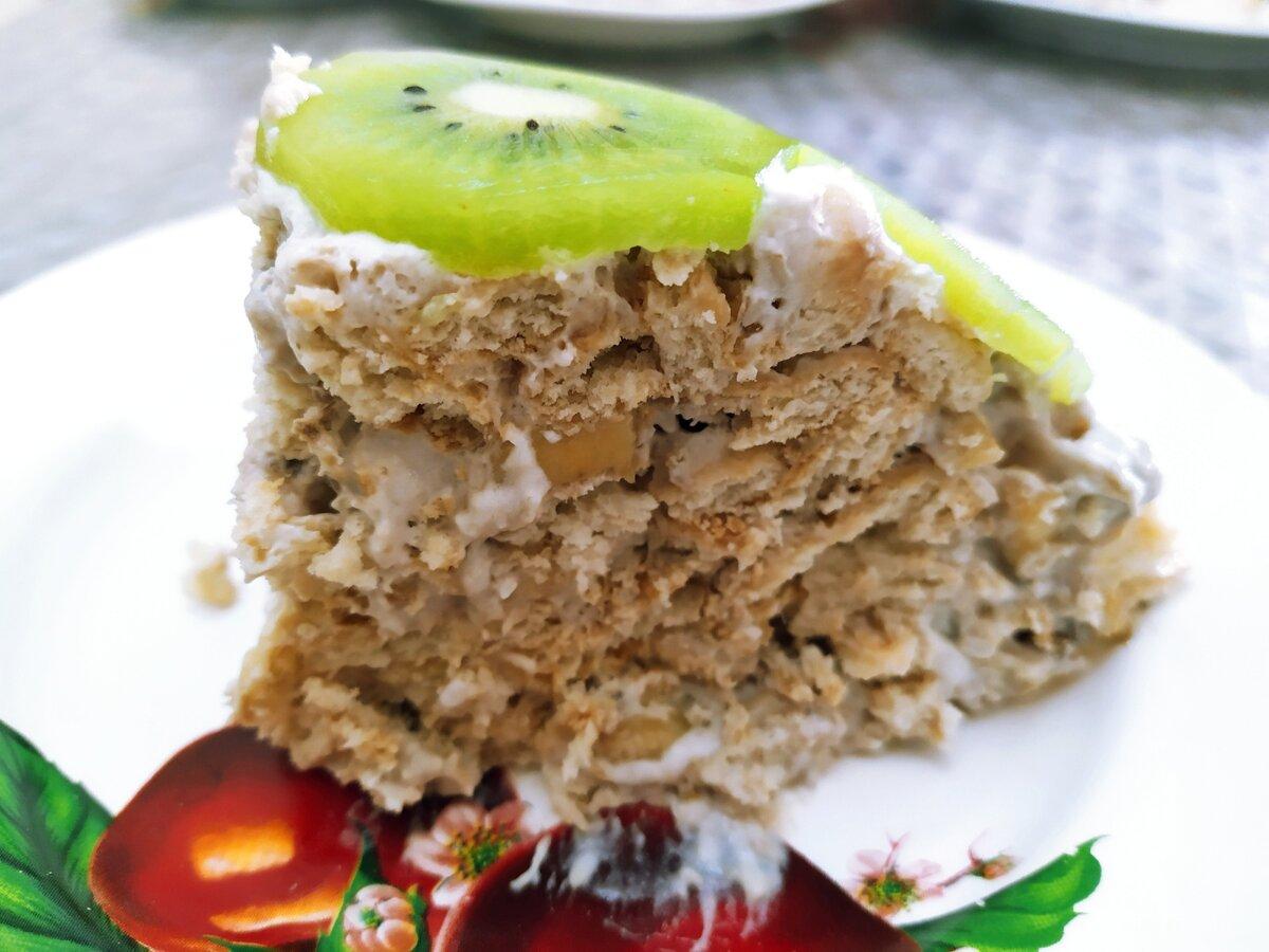 Нежнейший торт за 15 минут - без выпечки, масла и яиц. От его вкуса в восторге взрослые и дети