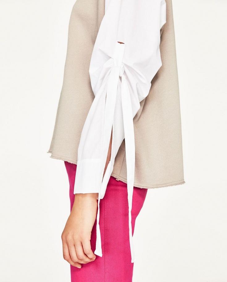 Блузки с интересными деталями одежда,своими руками