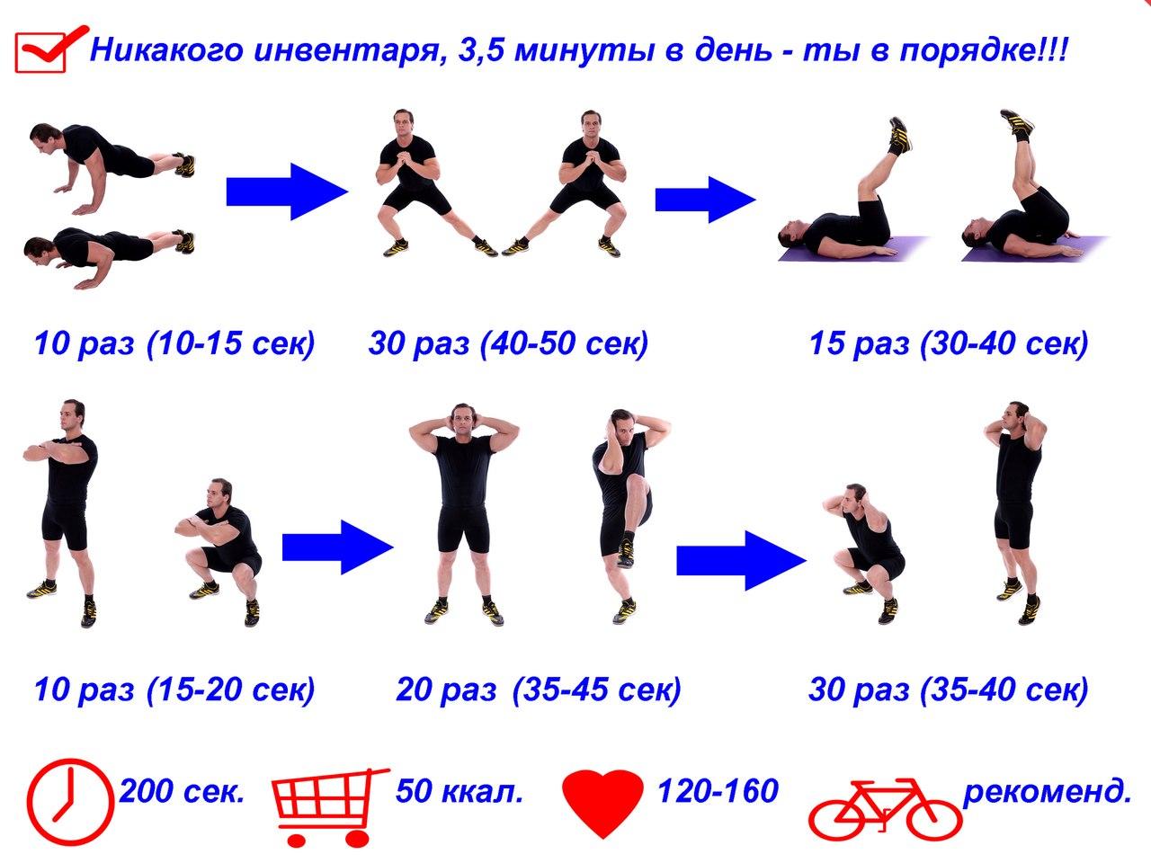 Комплекс Утренней Гимнастики Для Похудения. Утренняя зарядка для похудения и здоровья: комплекс упражнений, видео