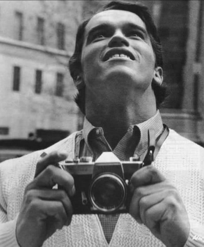 Арнольд Шварценеггер впервые приехал в Нью-Йорк, 1968 год