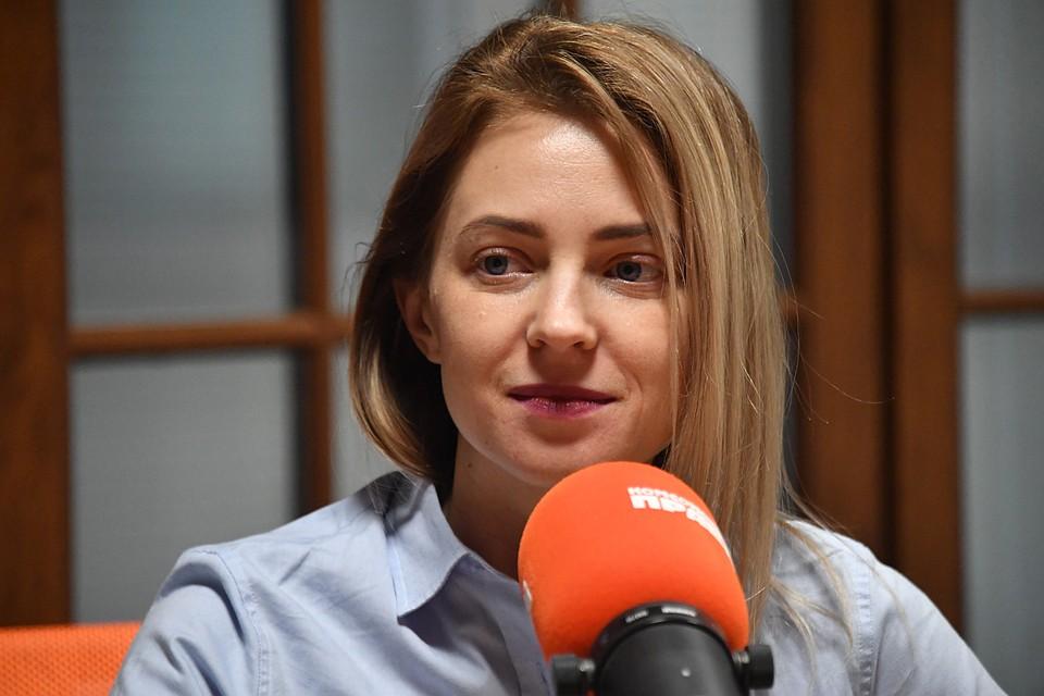 """Наталья Поклонская в студии радио """"Комсомольская правда"""""""