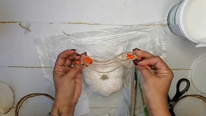 Прекрасный осенний декор для дома из ничего интерьер,рукоделие,своими руками,сделай сам