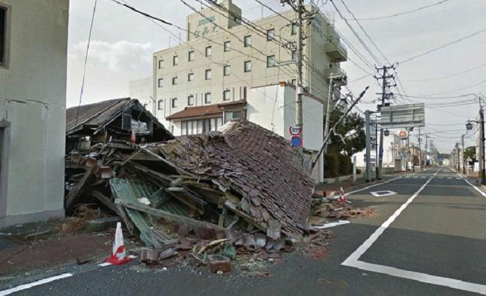 Городишко Намиэ префектуры Фукусима был весьма привлекательным и живописным местом на побережье Тихого океана (Япония). | Фото: mirfactov.com.