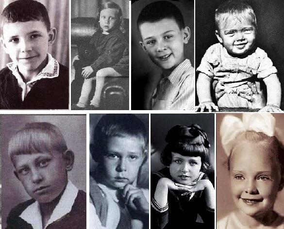 Фото из домашних архивов знаменитостей российского кино, театра и эстрады
