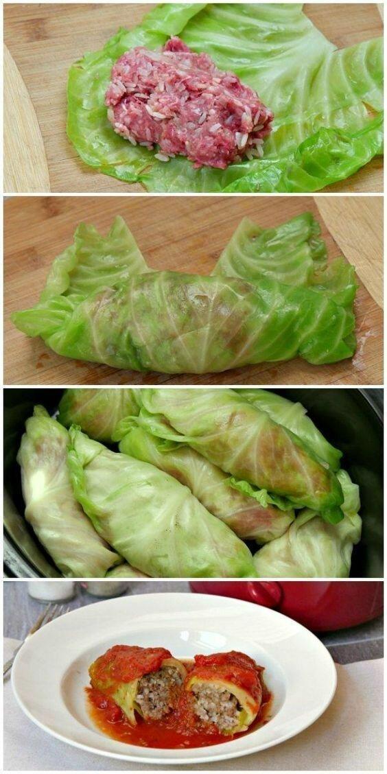 Кстати, на заметку - голубцы получаются нежнее из пекинской или савойской капусты длиннопост, еда, капуста, картинки, на заметку, приготовь, рецепт