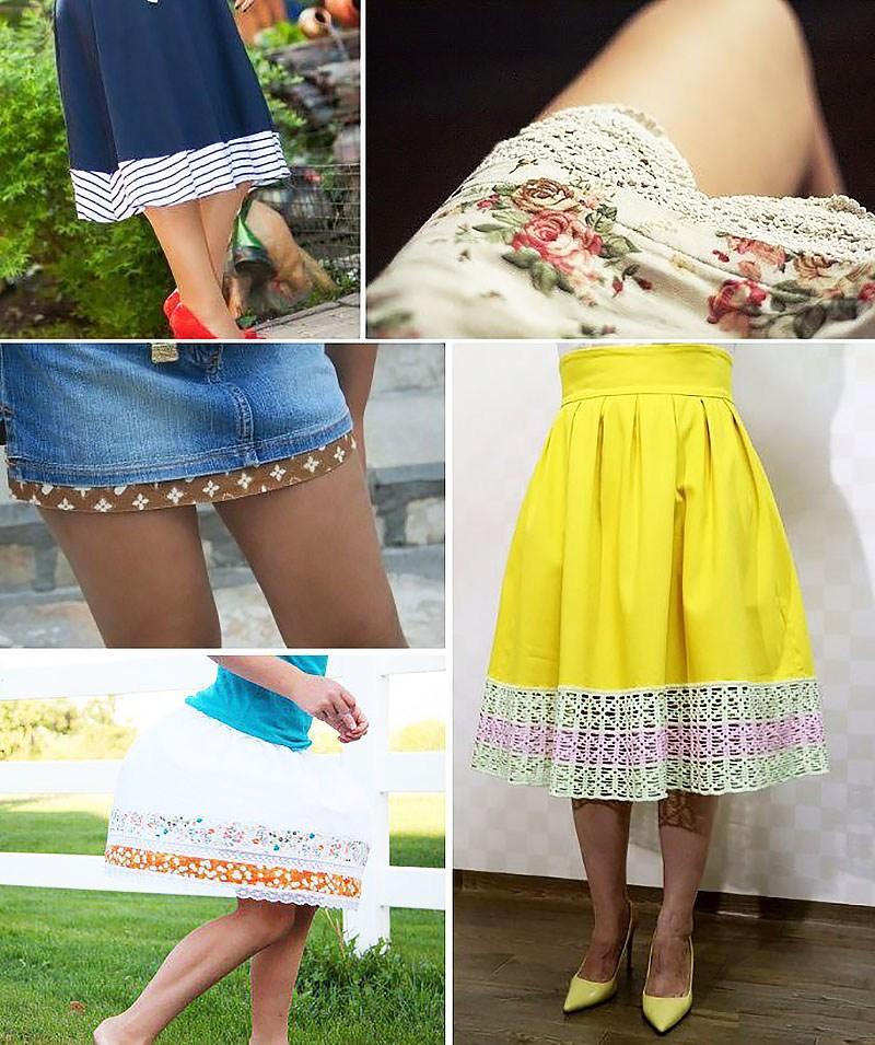 яркие юбки