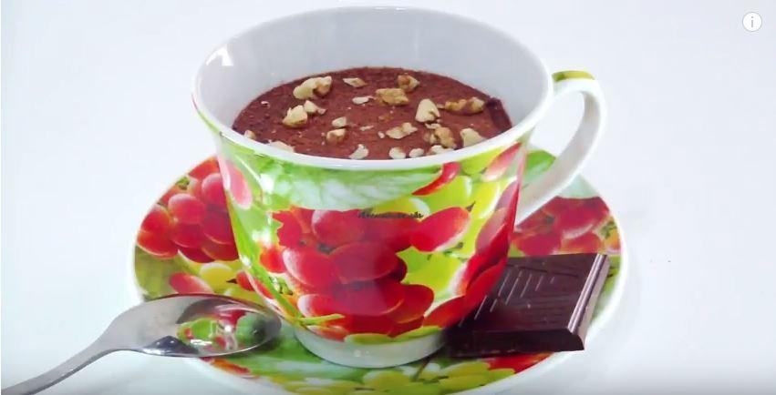 Французский шоколадный мусс