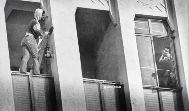 Мохамед Али отговаривает самоубийцу от прыжка, 1981 год