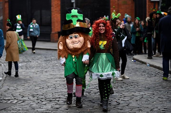В День святого Патрика в Ирландии, США и Великобритании прошли парады