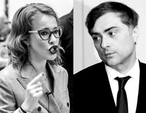 Собчак отругала Суркова за «эрегированное мужское эго»