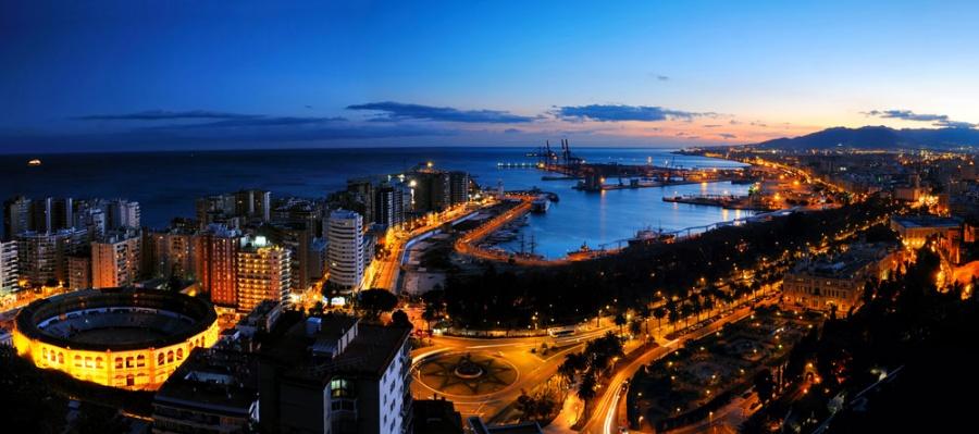 Приглашение в Испанию, Малага.