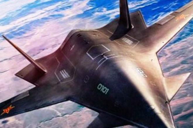 Новый китайский стелс-самолет попал на видео