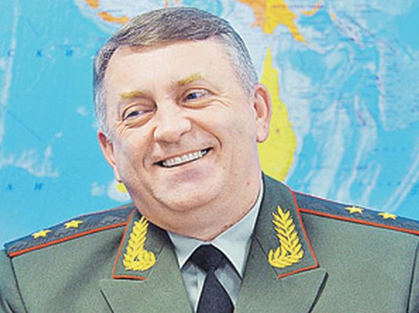 генерал-лейтенант Сергей Каракаев, командующий РВСН, 2011 год