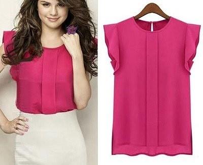 Выкройка красивой офисной блузки блузка,одежда,рукоделие,своими руками