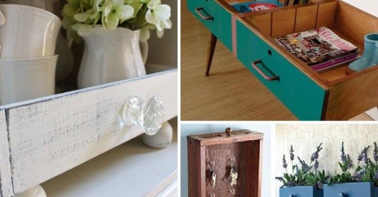 Новая мебель из старых ящиков комода