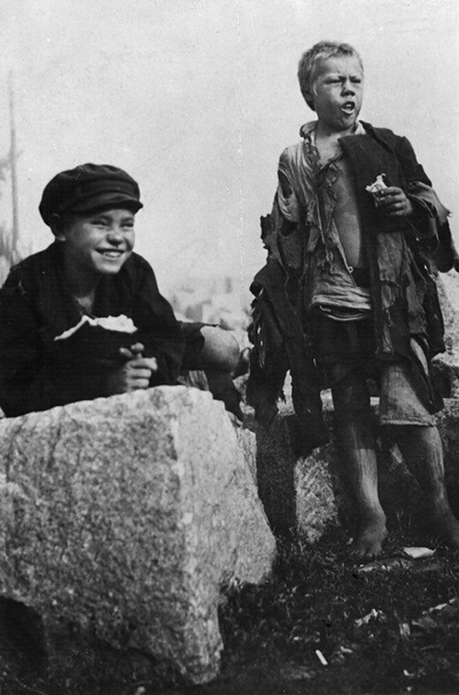 2. Беспризорники. Москва, 1922. СССР, беспризорники, интересное, история, фотографии