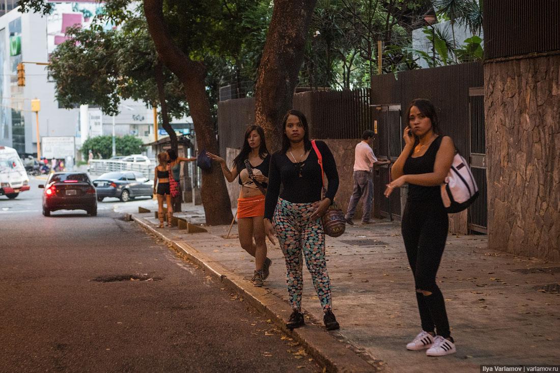 Венесуэла проститутки как снять профессиональную проститутку