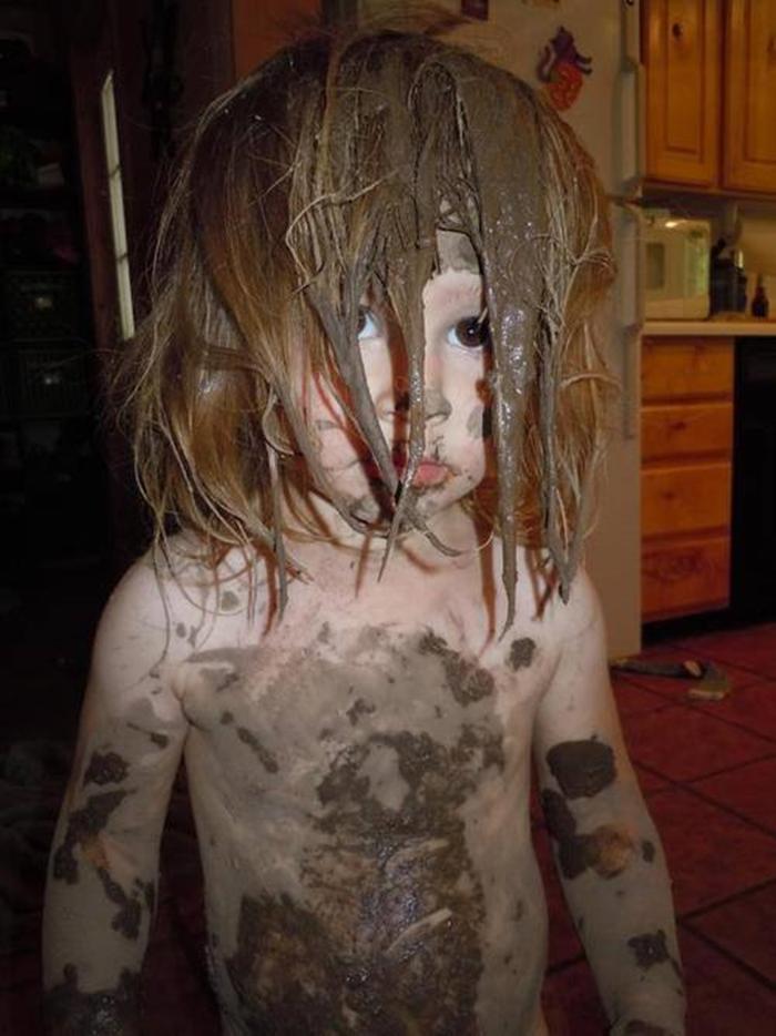 Смешные, смешные картинки дети в грязи
