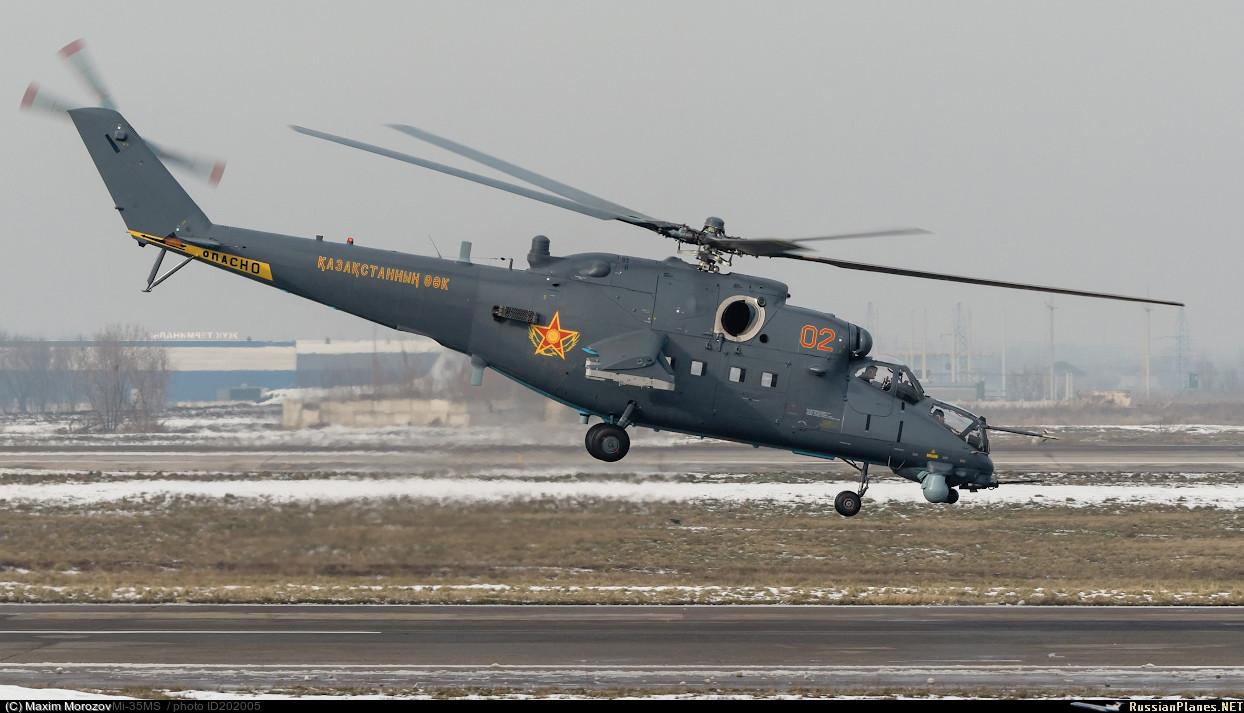 Казахстан получил первые вертолеты Ми-35М