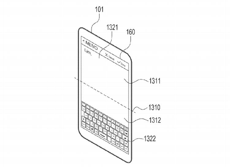 Смартфон Samsung с гибким дисплеем сможет складываться в любую сторону