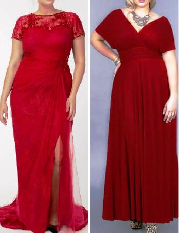 В чем встречать Новый год? Идеальный вариант — красное платье