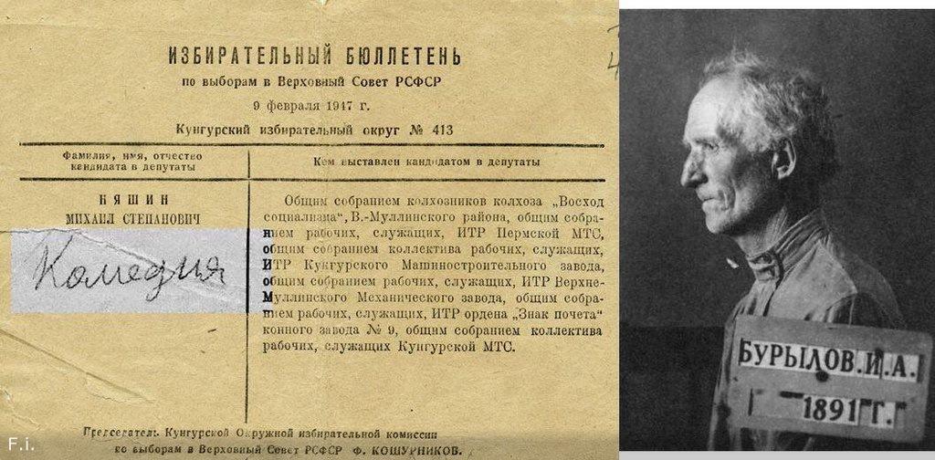 Что писали на бюллетенях советские избиратели  и чем это закончилось