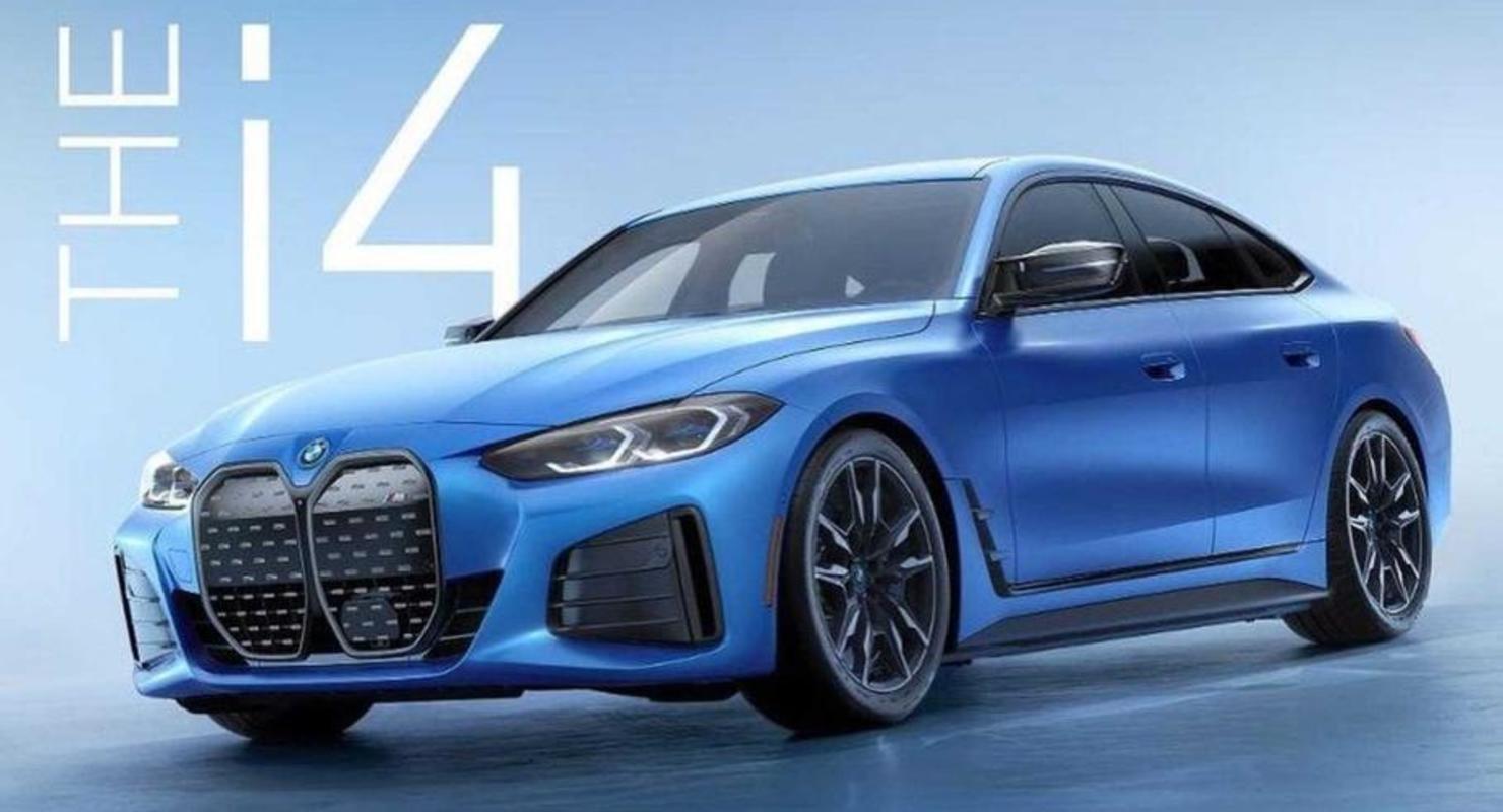 Появилось первое изображение высокопроизводительного электрокара от BMW M Автомобили