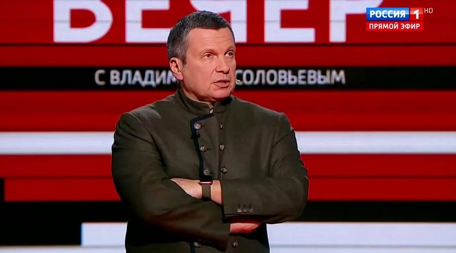 «Пошел вон отсюда!»: Соловьев выгнал из студии украинского эксперта, который вступился за фашистов