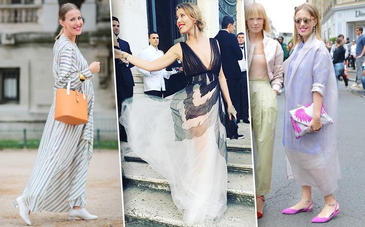 Модная мама: 14 лучших беременных образов Ксении Собчак