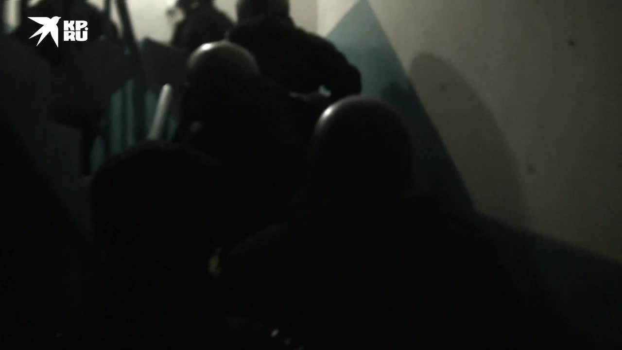 ФСБ опубликовала видео задержания финансиста ИГ* в Подмосковье