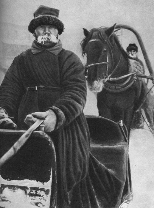 Извозчик 19 век, жизнь до революции, редкие фотографии, снимки, фотографии, царская россия