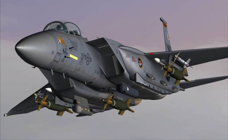 Су-34 против F-15Е, или Как не нужно сравнивать боевые самолёты