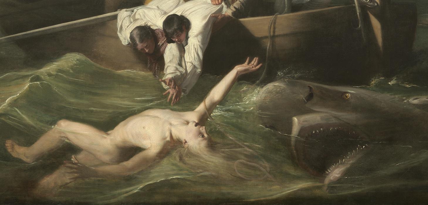 Джон Синглтон Копли, его белки и ... акула