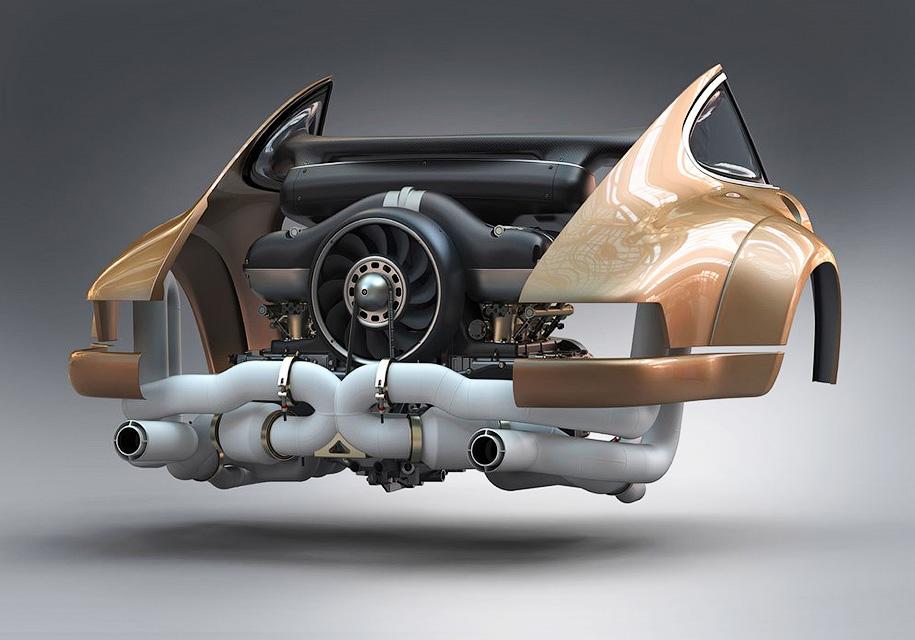 Для старого Porsche создали …