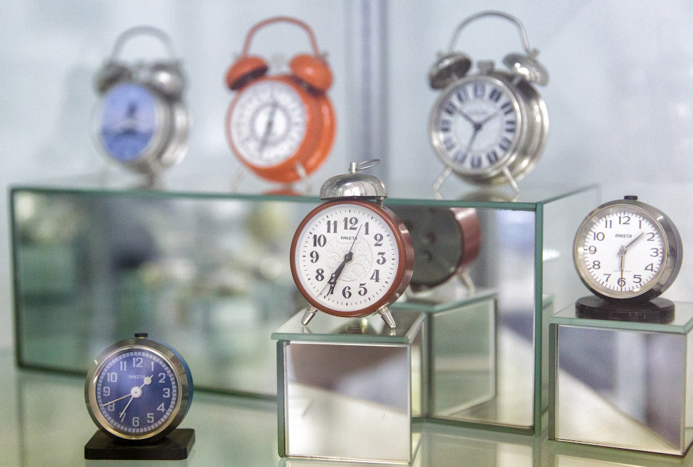 Как в России делают часы часы