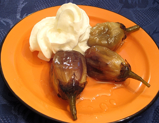 Десерт из Баклажан